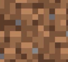 Minecraft Grass Block Merch Sticker