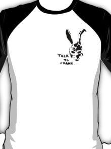 DONNIE DARKO - 'talk to frank' T-Shirt