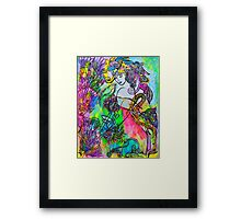 Touched Framed Print