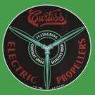 Curtiss Propeller Logo Repro by warbirdwear