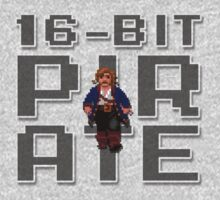 Guybrush - 16-Bit Pirate by TGIGreeny