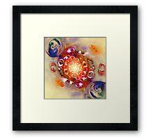 Color Wheel Framed Print