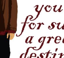 Great Destiny (dark) Sticker