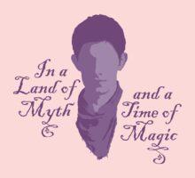 Merlin Myth - purple Kids Clothes