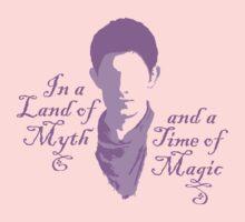 Merlin Myth - purple pale Kids Clothes