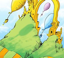 Dr. Seuss Oh The Places You'll Go by lynxcollection