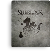 Sherlock: A Scandal in Middle-earth Canvas Print