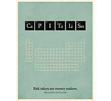 Capitalism  Photographic Print