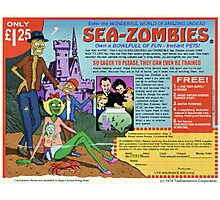 Sea-Zombies Photographic Print