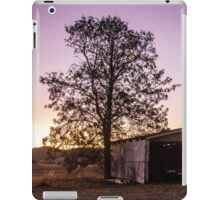 Sheds & sunsets iPad Case/Skin