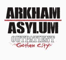 Arkham Asylum - White by Rupert Pupkin