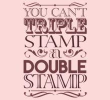 Triple Stamp Light by VanHogTrio