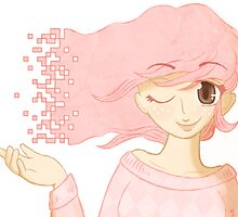 Pixel Me Pink by ParadoxyIntent