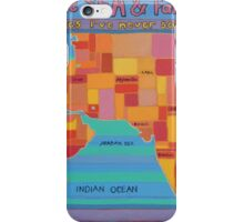 over the sea and far away iPhone Case/Skin