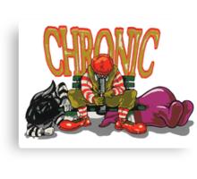 Chronic Canvas Print