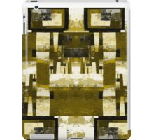 Forest Squared - Gold temple iPad Case/Skin