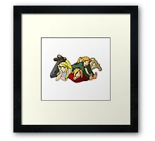 Risembool Trio Framed Print