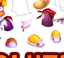Rayman Evolution Sticker