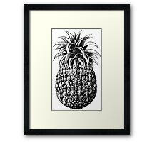 Ornate Pineapple Framed Print