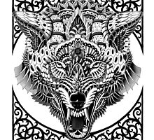 Wolf Head by BioWorkZ