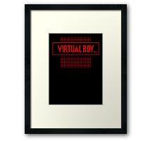 Virtual Boy Framed Print