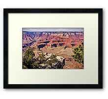 From the South Rim - Grand Canyon Arizona USA Framed Print