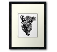 Ornate Koala Framed Print