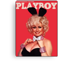 Playboy October 1978 Canvas Print
