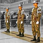 Uniform Spectacle at The Station With No Trains by TonyCrehan