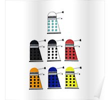 The Daleks Poster