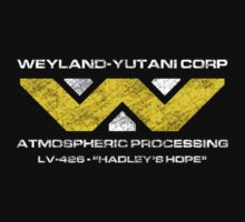 LV-426 Staff T-Shirt by James Price