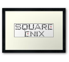 Square Enix Framed Print
