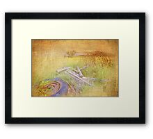 My First Textured Image Framed Print