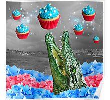 cuppa croco cakes -- rare celestial phenomenon Poster