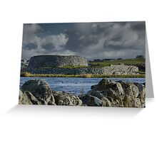 The Broch of Clickimin (1) Greeting Card