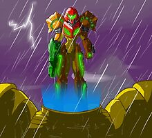 Samus - The Surface of Zebes by LawyerWithAnS