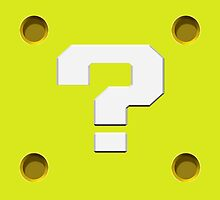 Question Mark Block by EpochPhaile