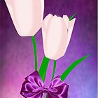 2 Pink Tulips (6994 Views) by aldona