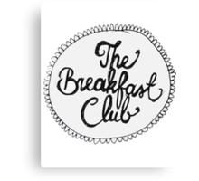 The Breakfast Club Circle Canvas Print