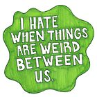 Green Quote Splat by rbx11