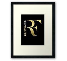 Federer Roger Tennis Framed Print