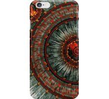 Fiery  clockwork iPhone Case/Skin