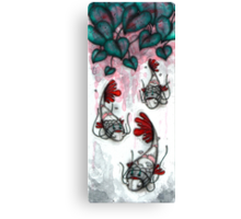Three Samurai Fish Canvas Print