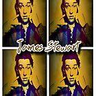 James Stewart Grid by Lisa Briggs
