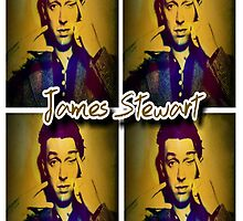 James Stewart Grid by Lisa Briggs