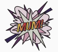 Comic Book MUM! Kids Clothes