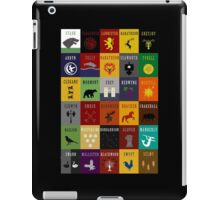 Game of Thrones House Sigils iPad Case/Skin