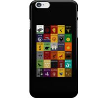 Game of Thrones House Sigils iPhone Case/Skin