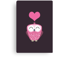 Owl Love You Forever Canvas Print