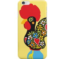 Symbols of Portugal - Rooster Nr. 01 iPhone Case/Skin